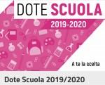 DOTE SCUOLA a.s. 2019/2020 – RIAPERTURA DEI TERMINI