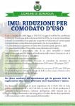 Nuovi criteri per la riduzione IMU in caso di comodato d'uso